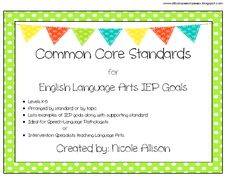 Speech Peeps: Common Core Products-Ready...Set...Go! Pinned by SOS Inc. Resources. Follow all our boards at pinterest.com/sostherapy for therapy resources.