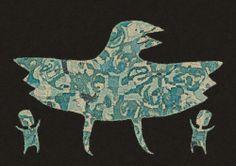 The Raven Dance / Wall Decor Digital Art Print Instant Download