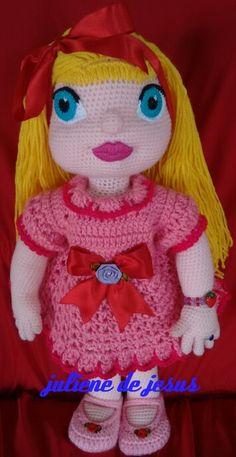 Boneca de crochê