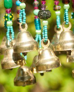 Carillones de viento de Bell por RonitPeterArt en Etsy