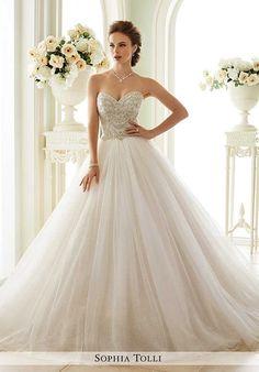 Sophia Tolli Y21663 Novella Wedding Dress photo