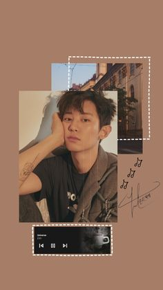wallpaper by me - Chanyeol (EXO), soft Foto Chanyeol Exo, Chanyeol Cute, Kpop Exo, Lightstick Exo, Kpop Aesthetic, Aesthetic Photo, Editing Pictures, Photo Editing, Yellow Aesthetic Pastel
