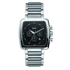 Hugo Boss 1512066 Black Mens Stainless Steel Chronograph Watch