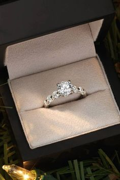 18 Blue Nile Engagement Rings That Inspire You ❤️ blue nile engagement rings gold diamond round cut solitaire unique ❤️ See more: http://www.weddingforward.com/blue-nile-engagement-rings/ #wedding #bride #engagementrings #bluenileengagementrings