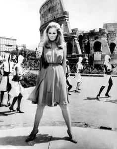 """Ursula Andress in """"The Tenth Victim,"""" 1965"""