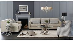 Mansfield 3.5 Seater Fabric Sofa - Lounges - Living Room - Furniture, Outdoor & BBQs   Harvey Norman Australia