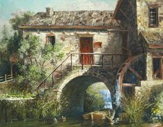 Michael R. Miller - The Old Stone Mill - Fine Art Print - Global Gallery