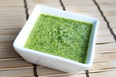 Got tacos? Cilantro Sauce Recipe