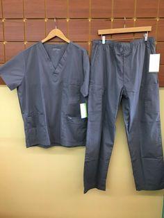 NWT Men/'s Dickies Gen Flex Elastic and Drawstring 7 Pocket Scrubs Size 3XL Ciel