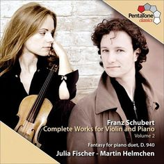 Schubert : Complete Works for Violin and Piano - Julia Fischer - PentaTone