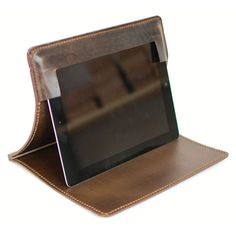 Leather iPad Case by Bleu de Chauffe.  $175