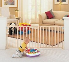 Extra Large Foot 5 6 7 8 Feet ft Long Dog Pet Child Baby Wide Safety Gate Swing >>> To view further for this item, visit the image link. This is an Amazon Affiliate links.