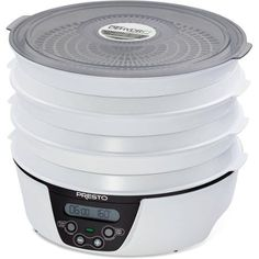 Deluxe Digital Electric Food Dehydrator Six Drying Trays BottomMounted Fan White * Amazon most trusted e-retailer  #Dehydrators