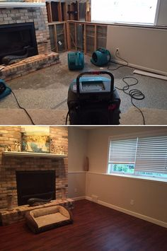 "Top Makeovers: ""I replaced all the carpet with this product and it is a stunning transformation and so much easier to take care of!"" [Summer Island Teak Vinyl]  http://remodel.lumberliquidators.com/detail/5mm-summer-island-teak-click-vinyl-vinyl-flooring-stillwater-mn"