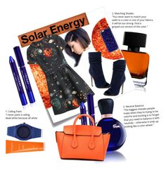 """""""Solar Energy"""" by vwatson004 ❤ liked on Polyvore featuring The Collection by Phuong Dang, Post-It, Halston Heritage, Valentino, Casetify, Lacoste, By Terry, Bally, d1 Milano and Sachajuan"""