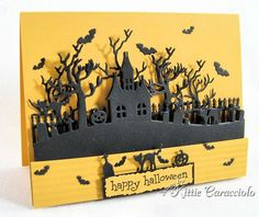 Kittie Caracciolo's wonderful Halloween cards.