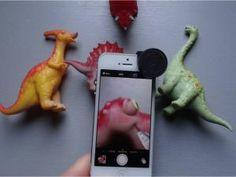 Macros à l'Iphone