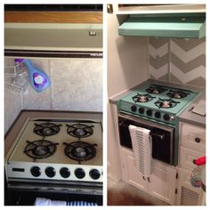 Motorhome remodel. Glamper. Before and after