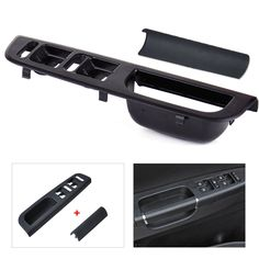 Awesome Awesome Door Master Window Switch Bezel& Handle Trim Set For VW Jetta Golf MK4 Passat B5 2017/2018 Check more at http://auto24.ml/blog/awesome-door-master-window-switch-bezel-handle-trim-set-for-vw-jetta-golf-mk4-passat-b5-20172018/