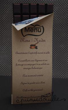 menu chocolat