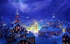 Christmas at the North Pole, if you believe.