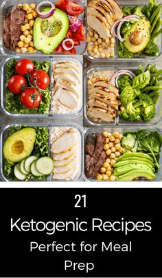 10 Keto Meal Prep Tips You Haven't Seen Before + 21 Keto Recipes - meal prep recipesThese 21 keto diet recipes are fabulous! Perfect for meal prep & planning these ketogenic recipes for breakfast, lunch, and dinner make losing weight taste delicious Meal Prep Plans, Keto Meal Plan, Diet Meal Plans, Ketogenic Recipes, Diet Recipes, Healthy Recipes, Snack Recipes, Dessert Recipes, Smoothie Recipes
