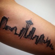 Small Tattoos Seattle – foot tattoos for women quotes Seattle Skyline Tattoo, Seattle Tattoo, Foot Tattoos For Women, Small Tattoos, Cool Tattoos, Tatoos, Ankle Tattoos, Arrow Tattoos, Home Tattoo
