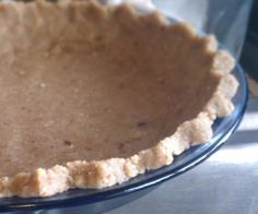 3 Ingredients is all you need for this paleo pie crust.