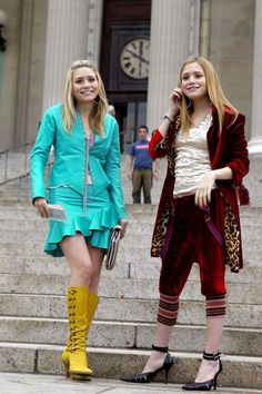 Photo of MKA New York Minute Stills for fans of Mary-Kate & Ashley Olsen 33737825 Mary Kate Ashley, Ashley Olsen, Sasha Pivovarova, Early 2000s Fashion, All Fashion, Unique Fashion, Fashion Tips, Ashley Movie, Simple Plan