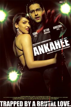Pritish Nandy Communications' Ankahee is a romance unlike any other. Inspired by the events of his life, Vikram Bhatt puts to celluloid a film after his own heart, Ankahee.  Ankahee is about the truths that were left unspoken between a man, his wife and his daughter. And the lies that need to be uncovered. It is a film about brutal love, deception, betrayal and the desperate loneliness that accompanies all three.