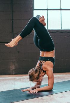 55 Ideas Yoga Poses Wall Workout For 2019 Yoga Fitness, Fitness Goals, Fitness Quotes, Fitness Motivation, Fitness Challenges, Fitness Style, Yoga Inspiration, Fitness Inspiration, Yoga Handstand