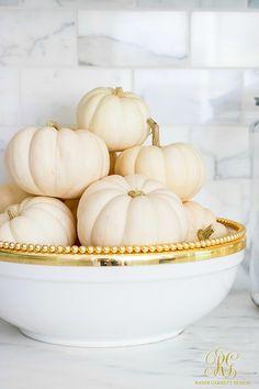White pumpkins in go