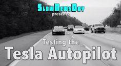 Testing the #Tesla #autopilot #electric #car
