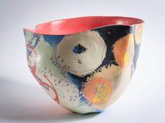 Ceramics Ceramic Decor, Ceramic Design, Ceramic Pottery, Pottery Art, Slab Pottery, Pottery Sculpture, Sculpture Clay, Ceramic Sculptures, Modern Ceramics