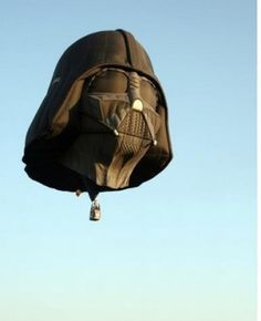 Darth Vader hot air balloon.  Your argument is invalid.