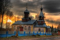 Orthodox church in Izha