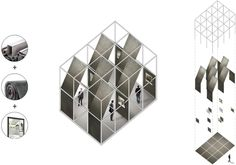 The Perfect Drawing: 8 Axonometric Projections That Lend Architecture a Whole New Perspective - Architizer System Architecture, Architecture Concept Drawings, Sustainable Architecture, Architecture Design, Pavilion Architecture, Architecture Collage, Architecture Graphics, Residential Architecture, Contemporary Architecture