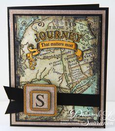 The Stamp Simply Ribbon Store's week of JustRite Monogram design...