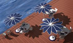 Solaris, the sun shading system that relies on #SolarPower for a #sustainable environment: http://bit.ly/1mN5v2C