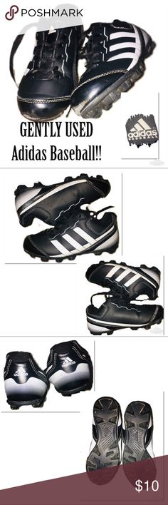 118b115ba21c GENTLY USED ADIDAS BASEBALL Cleats!🔥‼ These ADIDAS BASEBALL Cleats ‼