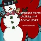 FREEBIE!  A compound word anchor chart 2.  An interactive compound word activity
