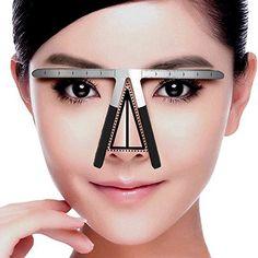 Tattoo Needles, Grips & Tips Tattoos & Body Art Fish Eyebrow Ruler Permanent Makeup Stencils Eyebrow Shaping Stencil Tools Su Various Styles