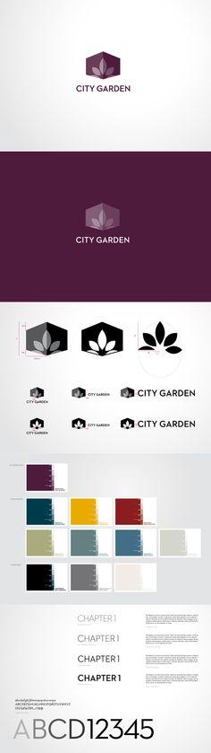 City Garden Hotel // Visual Identity by Alex & Simon , via Behance