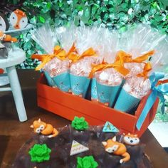 lembrancinha Boys First Birthday Party Ideas, Wild One Birthday Party, 1st Boy Birthday, Boy Baby Shower Themes, Baby Boy Shower, Woodland Party, Woodland Decor, Teen Girl Crafts, Fox Party