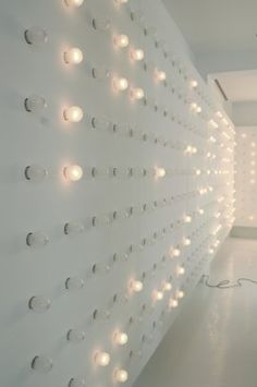 Wall . Lights . Architecture . Paul Kaloustian
