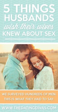 This is a MUST-READ. Honestly, every couple on earth needs to read this post. Fantastic intimacy tips and things to keep in mind, especially for women. www.TheDatingDivas.com