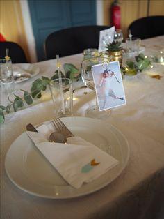 Christening dåp borddekking bordkort table setting navnefest