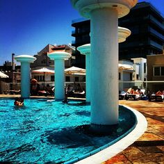 pool day at Dan Tel Aviv Hotel
