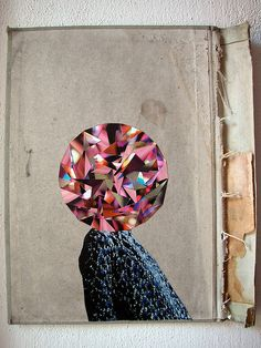 Sparkle! Collage by Misano Adriatico a huge crystal gem stone head collage