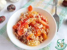 Салат из болгарского перца по-азиатски - кулинарный рецепт